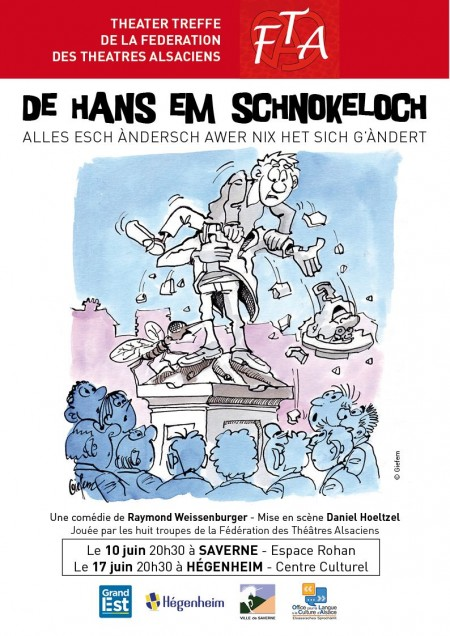 Affiche Hans em Schnockeloch